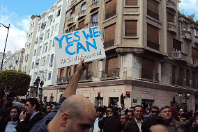 Plakat: Yes we can!