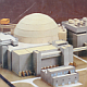 Photo of construction kit for a nuclear power plant
