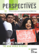 Cover Perspectives Middle East: Arabische Revolte – Die Macht des Volkes