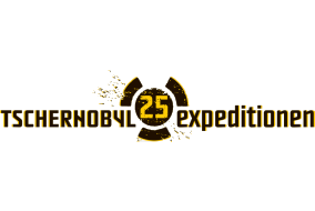 Logo: Tschnernobyl 25 - expeditionen