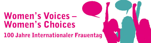Banner Womens Voices Womens Choices