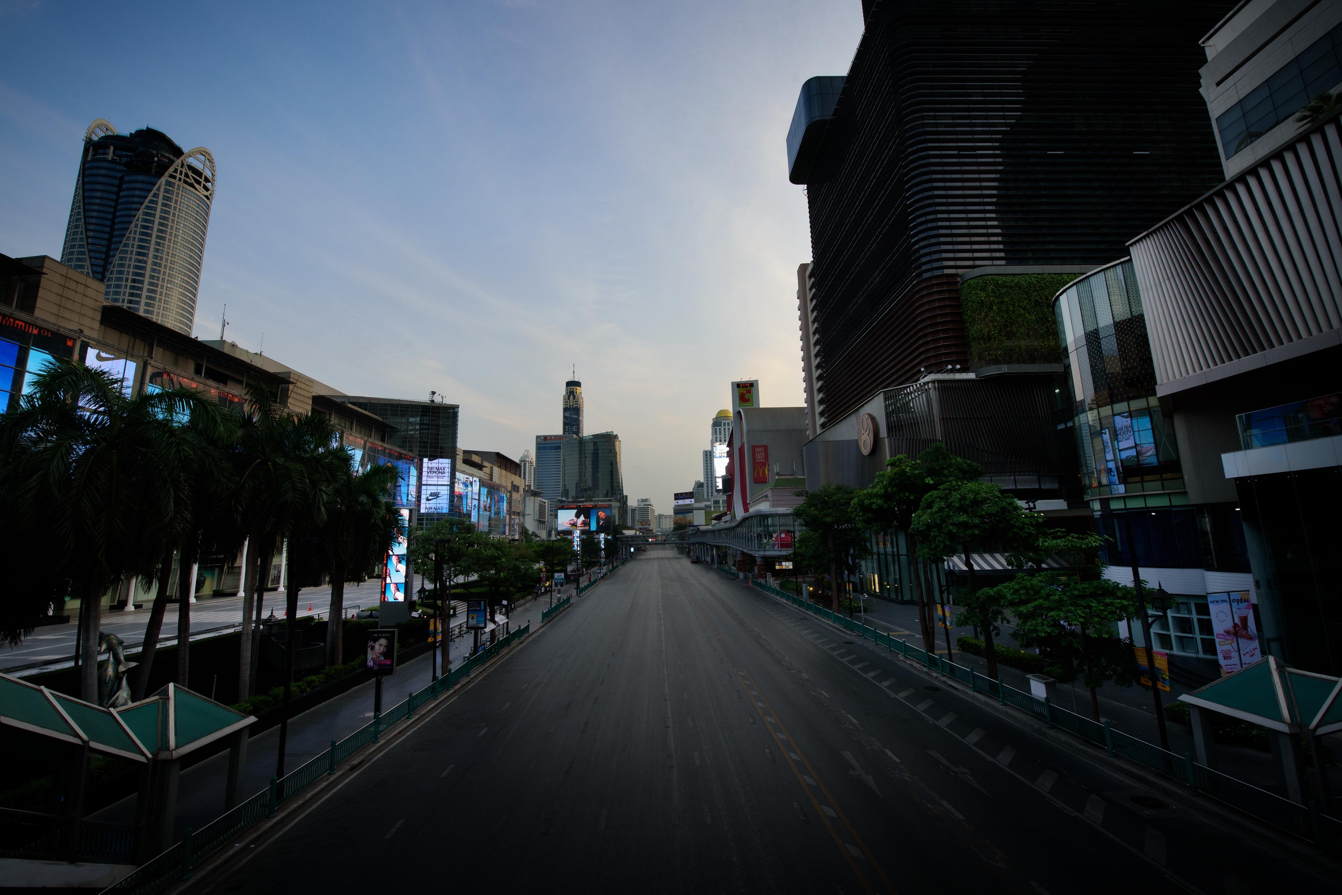 Ratchaprasong-Kreuzung