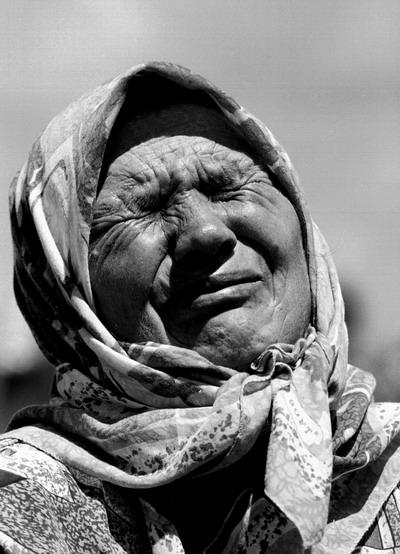 Srebrenica, Mutter, 2003.