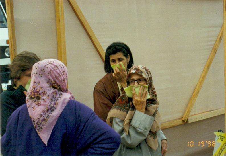 Identifizierung der Leichen 1998.