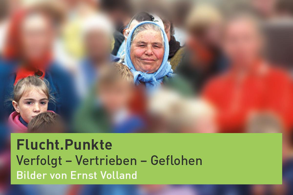 Aufmacherbild für die digitale Ausstellung: Fluch.Punkte von Ernst Volland