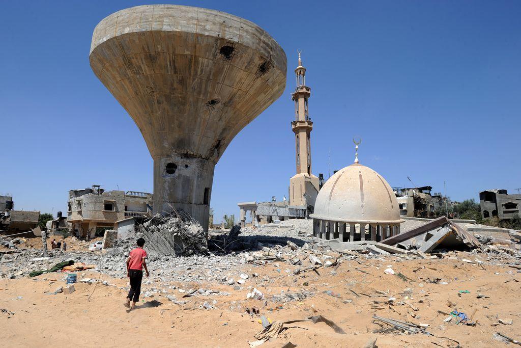 Zerstörungen im Gaza-Streifen