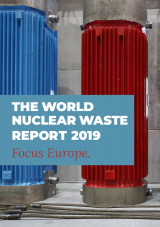 Titelbild - The World Nuclear Waste Report 2019