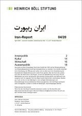 Cover des Iran Reports