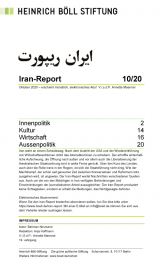 Cover: Iran-Report 10/20