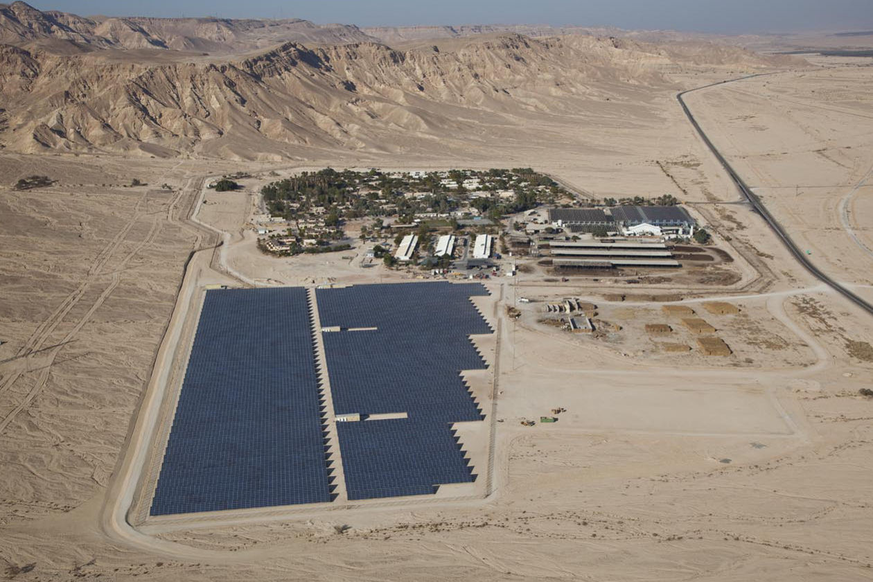 Climate change policy in israel must become a national priority israels first solar field at kibbutz ketura in the arava valley publicscrutiny Gallery