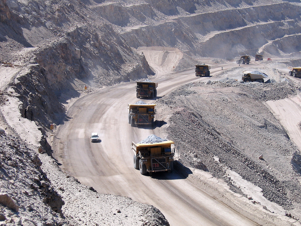 Chile Bergbau