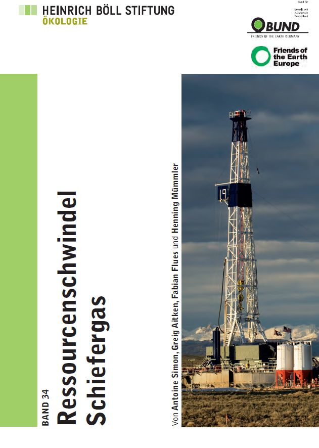 Cover: Ressourcenschwindel Schiefergas