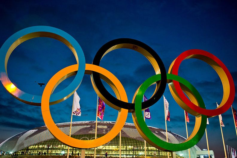 wo sind die olympischen spiele