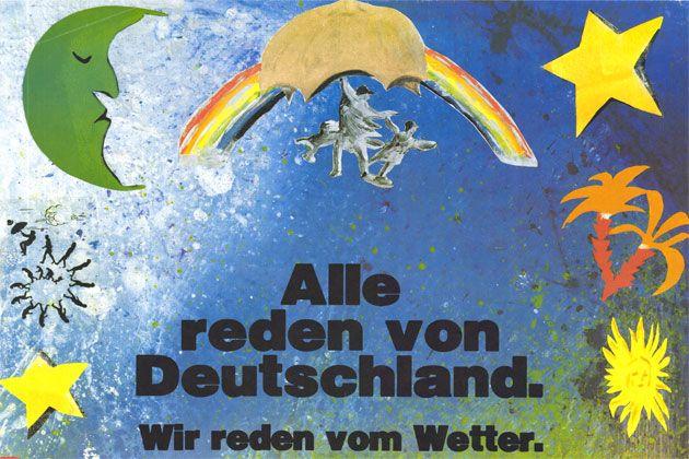 Die Grünen Plakat