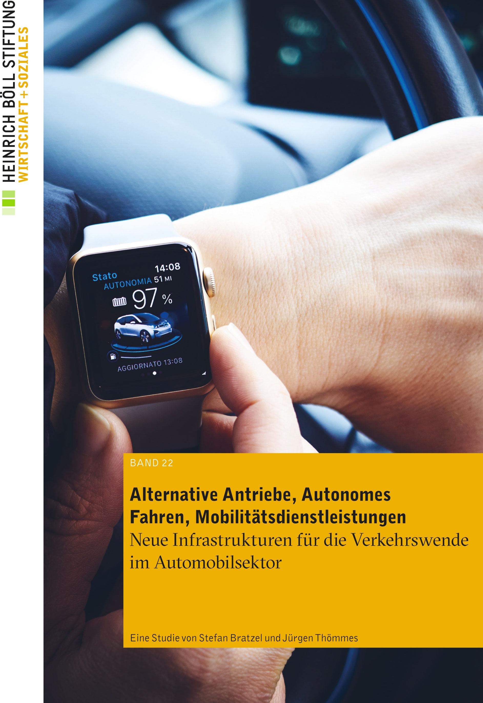 Alternative Antriebe Autonomes Fahren Mobilitätsdienstleistungen